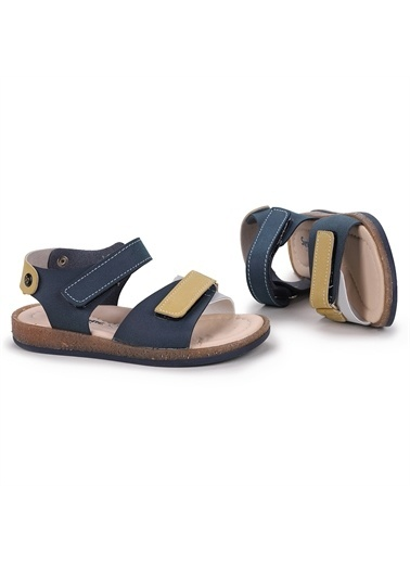 Kiko Kids  Şb 27432893-00 Orto Pedik Erkek Çocuk Sandalet Terlik Lacivert